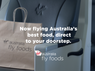 Virgin Australia Fly Foods - April Fool's Day campaign